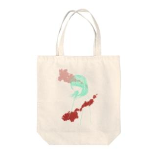 色彩少女と血2 Tote bags