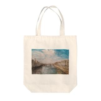 晩夏のフィレンツェ Tote bags