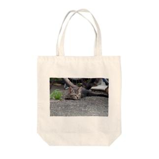 起きた野良ニャンコ Tote Bag