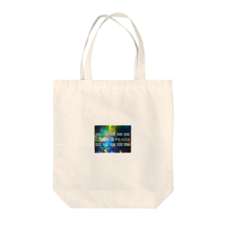 LOVE×PEACE Tote bags