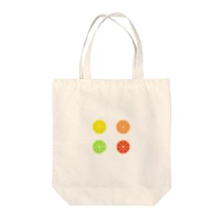 カラフル柑橘系 Tote Bag