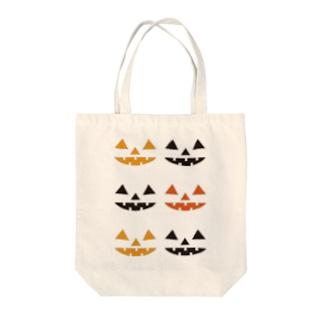 ジャックランタンズ Tote bags