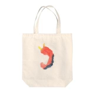 鬼の胎児 Tote bags