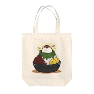 和すずめ-かき氷- Tote bags