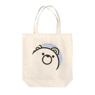 しろくま丸 Tote bags