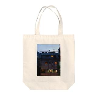 my sweet home Tote bags