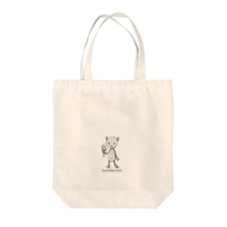 ケン玉パンダ Tote bags