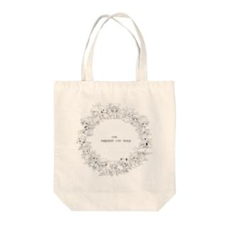創作AMBITION・CAT・WALK15th記念 Tote bags