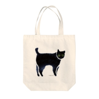 a piece of animation にじいろの黒ねこ TTBh Tote bags