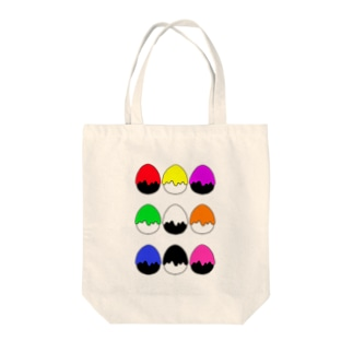 たまご型にペンキかかった(9色) Tote Bag