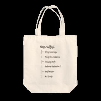ゆたぽんのNASRULLAH Tote bags