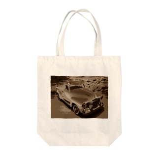 CHEVROLET 3100 Sepia Tote bags