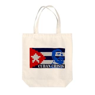 Cuban Crisis Tote bags