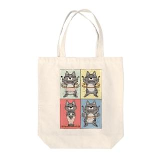 4コマまんが/フラフープ Tote Bag