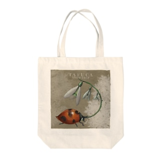 SNOWDROP Tote bags