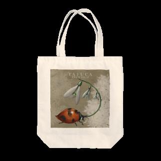 FINCH LIQUEUR RECORDSのSNOWDROP Tote bags