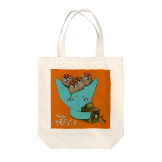 FINCH LIQUEUR RECORDSのピンホール Tote bags