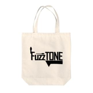 FuzzTONE -black- Tote bags