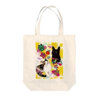 タラ&ウメちゃん💝🤗❤️🐱 Tote bags