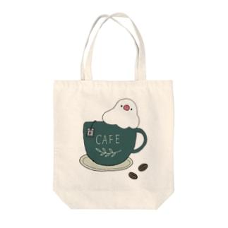 コーヒーカップ文鳥☕  (文鳥の日 2021記念) Tote Bag