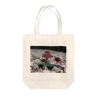 きのこさん Tote bags