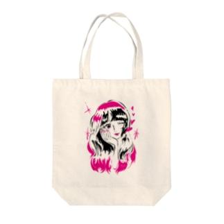 キラリン乙女☆ Tote bags