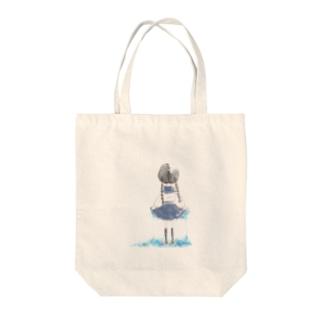 sailor girl Tote bags