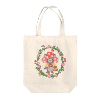 きのこずきんちゃん Tote bags