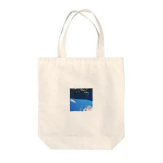 trimming/sakana Tote bags