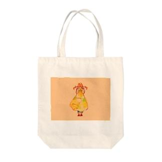 おにゃにょこ Tote bags