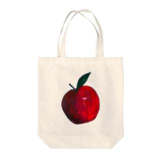 🍎水彩林檎🍎 Tote bags