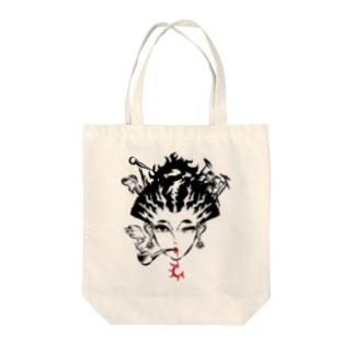 雷神Mai-co Tote bags