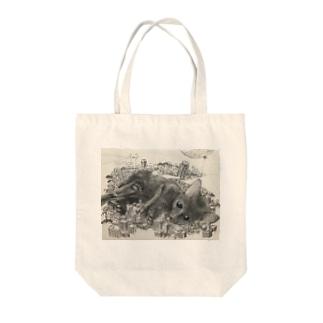 クロ Tote bags