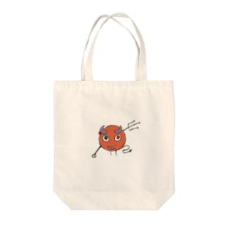 yagiyaのshirotaro-リトルデーモン- Tote bags