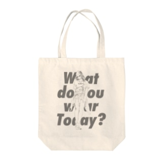 What do you wear today? 2nd Tote bags