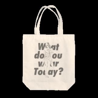 #鹿[Shika]のWhat do you wear today? 2nd Tote bags