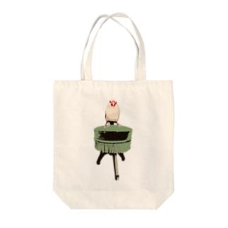 文鳥椅子 Tote bags