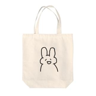 うさじゃす Tote bags