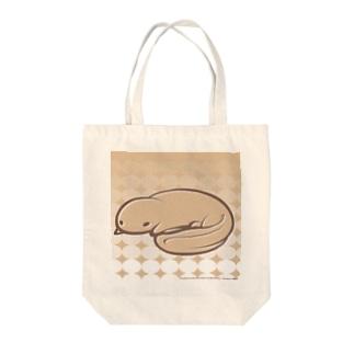 アルサンショウウオ Tote bags
