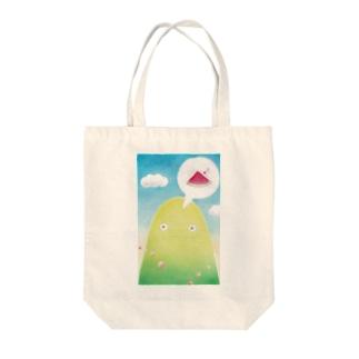 夏山さん Tote bags