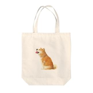 柴犬さん Tote bags