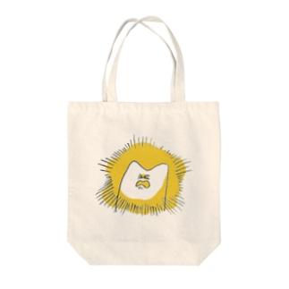 ねここ!ウッ! Tote bags