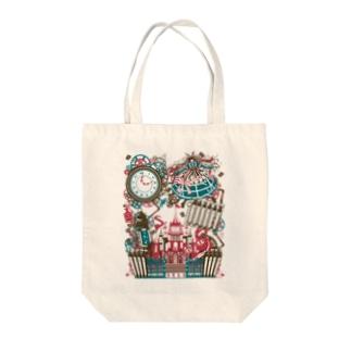 スチームパンク★不思議の国のアリス-カラフル Tote bags