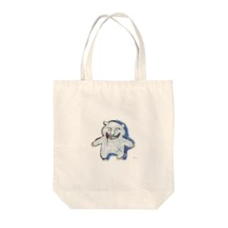 スプラッターベア Tote bags