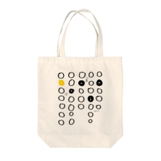 tanka/黄色 トートバッグ