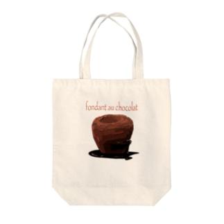 フォンダンショコラ サコッシュ Tote bags