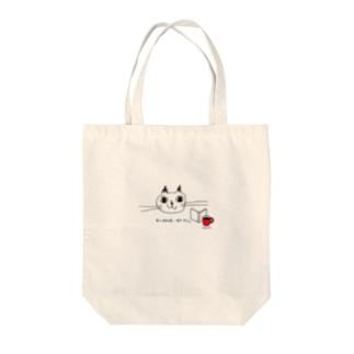 本と珈琲、時々ネコ。 Tote bags