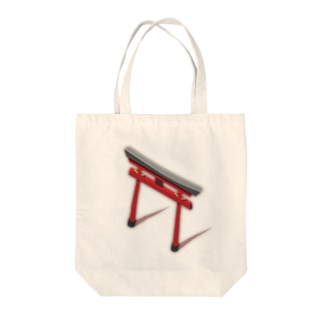 鳥居 Tote bags