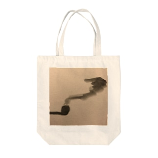 煙 Tote bags