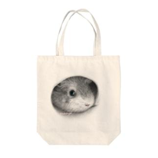つぶにゃん Tote bags